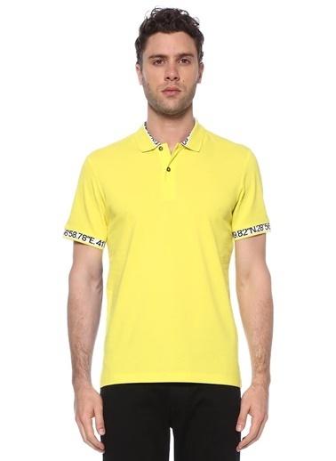 NetWork Erkek 1074393 Slim Fit Polo Yaka T-shirt Sarı
